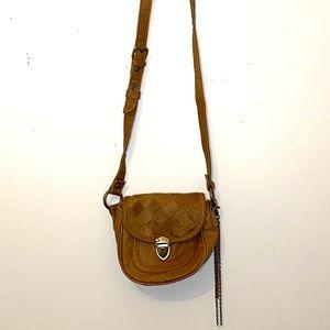 Boho crossbody mini purse